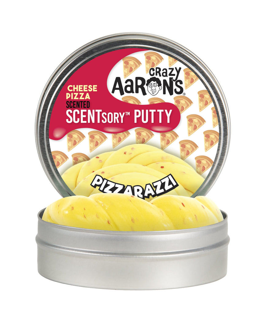 Crazy Aaron's PizzarazziScentsory Putty - Smells Like Cheese Pizza