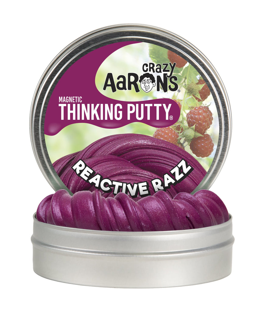 Magnetic Reactive Razz Thinking Putty
