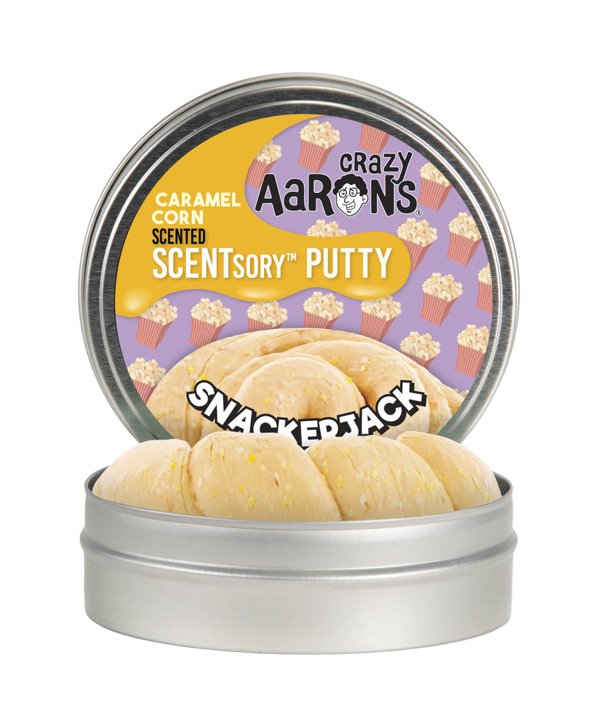 Crazy Aaron's Snackerjack Scentsory Putty - Smells like Caramel Corn