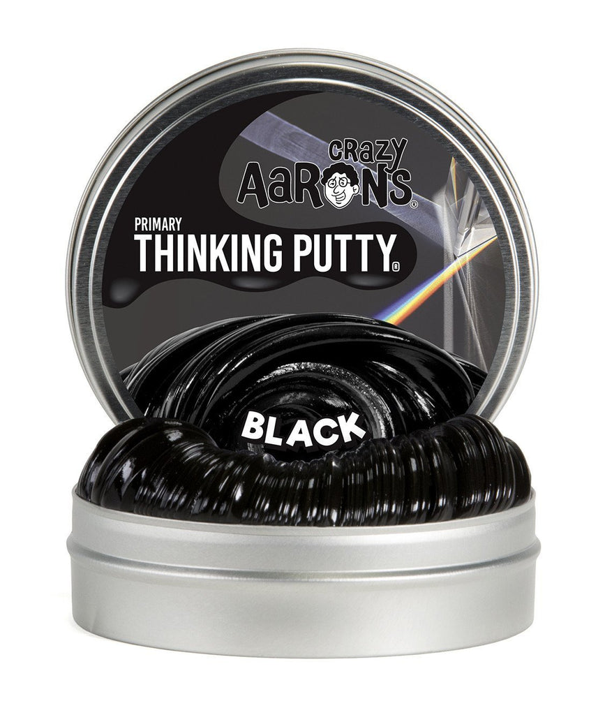 Crazy Aaron's Puttyworld Black | Primary Thinking Putty