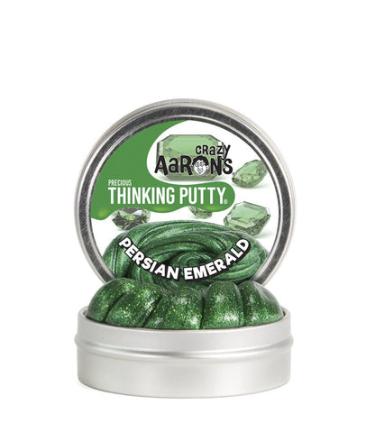 Crazy Aaron's Puttyworld Persian Emerald | Precious Thinking Putty