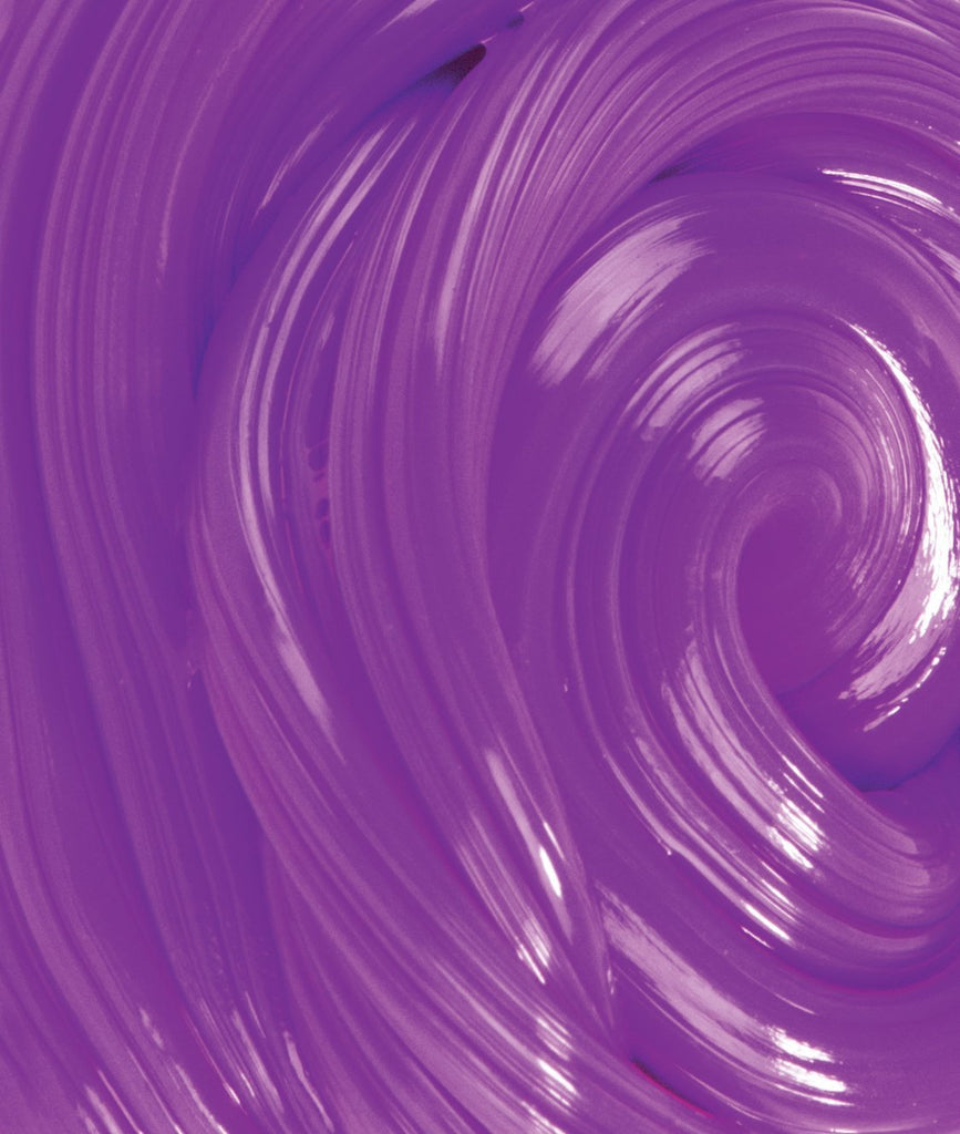 Purple Thinking Putty Detail