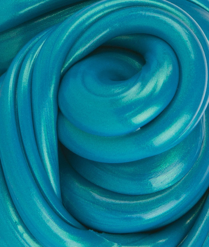 Teal Thinking Putty Detail