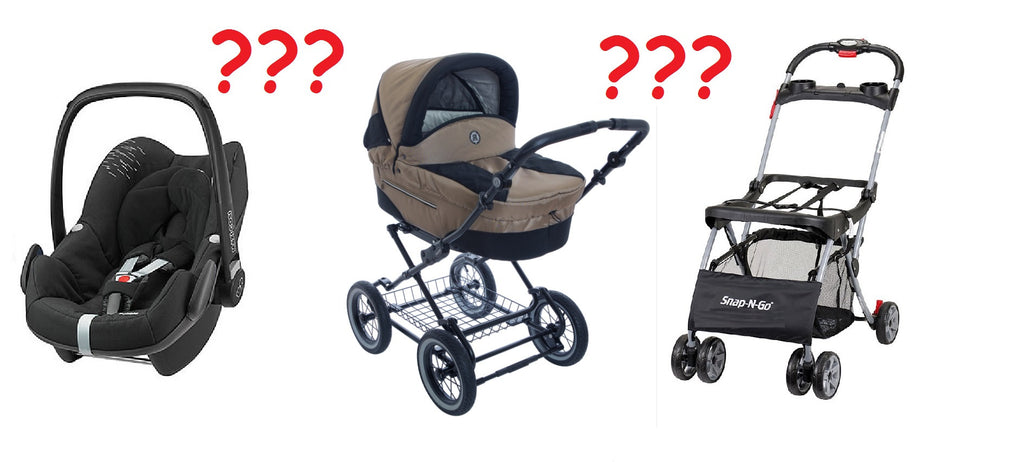 Baby Car Seats and Classic Strollers