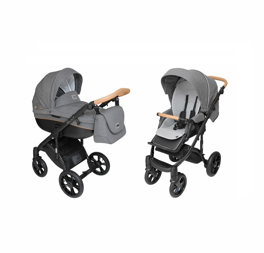 ROAN Bass Stroller with bassinet - Classic Features and Modern Design
