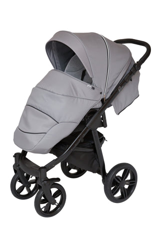 ROAN Bass Stroller with bassinet, reversible seat and inflated big wheels
