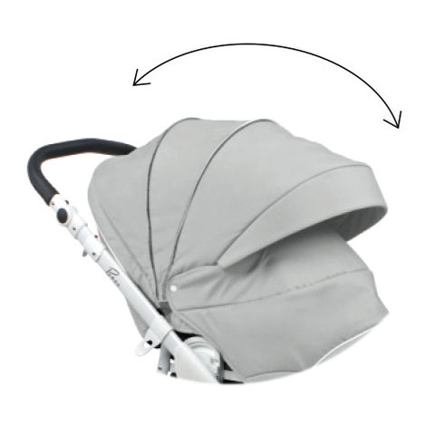 ROAN Bass Soft Stroller with Bassinet is teh great stroller