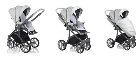 ROAN Bass Soft Stroller with bassinet and reversible seat is the best stroller for baby