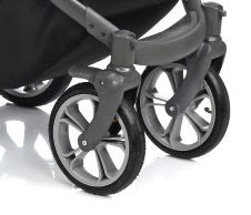Bass Soft Stroller with Bassinet and swivel wheels