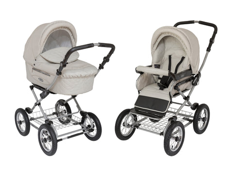 Kortina Rocco ROAN Stroller with bassinet air inflated wheels