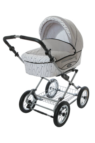 Pram Stroller with bassinet baby buggy