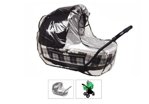 Baby Pram Stroller Buggy with Bassinet Rain Cover