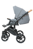 Black_Cognac Stroller Pram with Bassinet Buggy