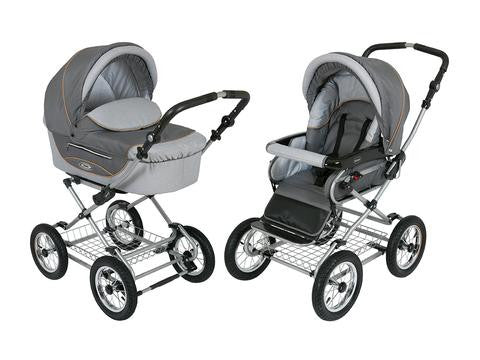 Kortina baby Pram Stroller Shades of Grey color
