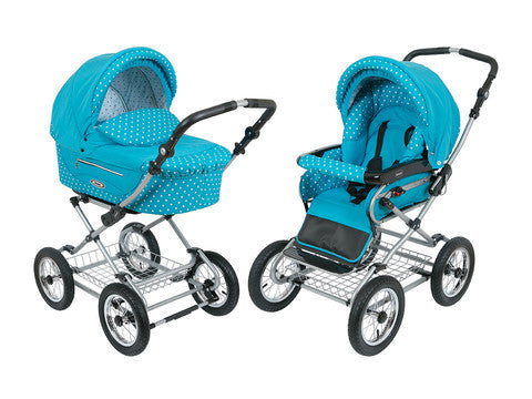 Kortina baby Pram Stroller Sky Blue color