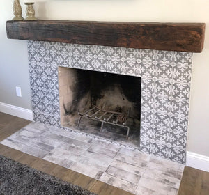 Solid Reclaimed Barn Beam Mantels (4x6/6x6/6x8/8x8)