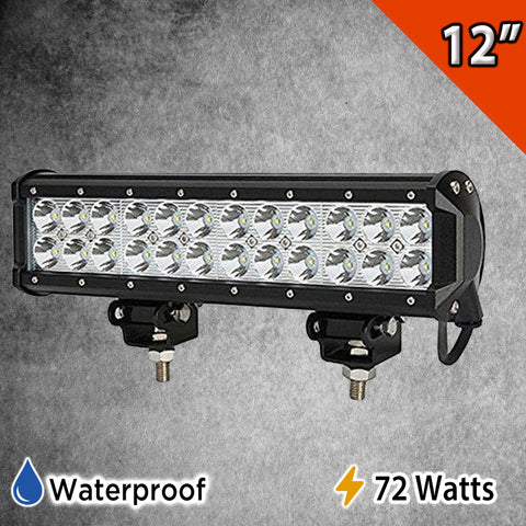 "12"" LED Light Bar Bottom Mount"