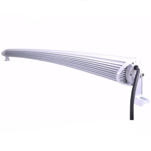 "Curved 288W 50"" White Combo Spot Flood LED Light Bar"