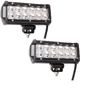 Two 7 led light bars light bar supply two 7 led light bars two 7 led light mozeypictures Images