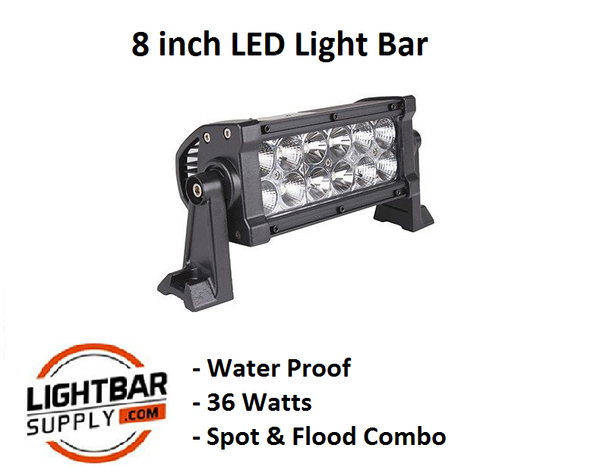 "8"" Straight LED Light Bar"