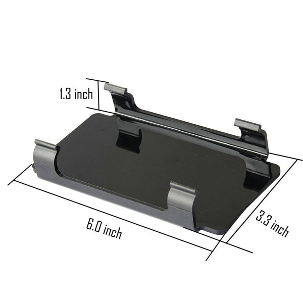 6 Snap On Black Led Light Bar Cover