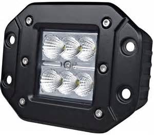 "LED Bundle Package - 42"" Light Bar With Set Of Two 4"" FLush Pods"