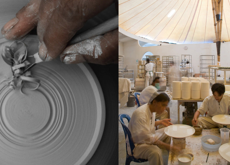 Production of ESKO ceramics