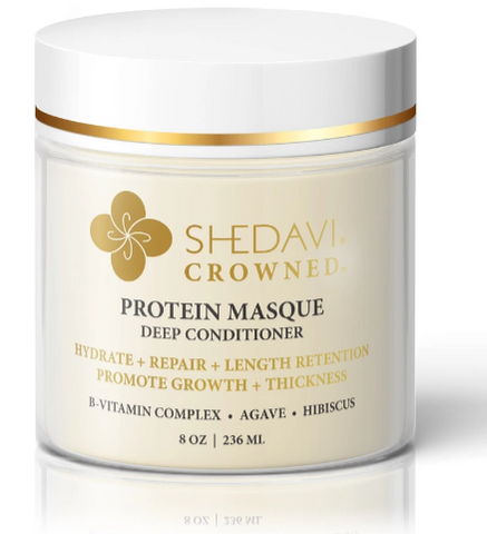 Image of the Shedavi crowned protein mask