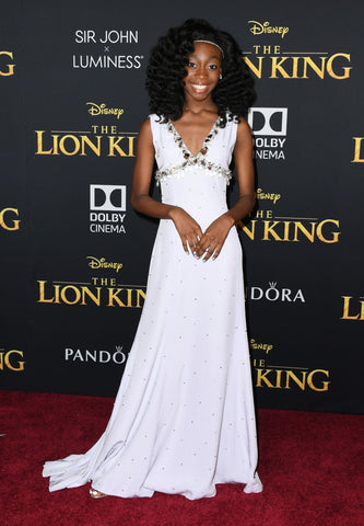 Shahadi Wright Joseph Lion King Twist Out