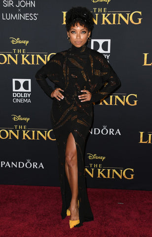 Logan Browning Lion King