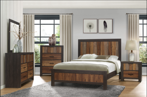 4 Piece Bedroom Set - Cooper Collection