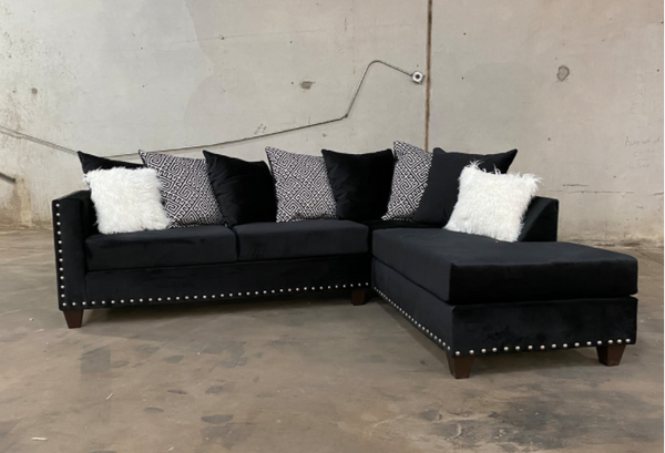 200-Sectional (Black)