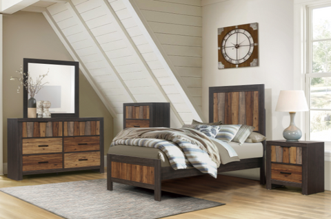 Twin 4 Piece Bedroom Set - Cooper Collection
