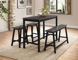 4 piece counterheight table set
