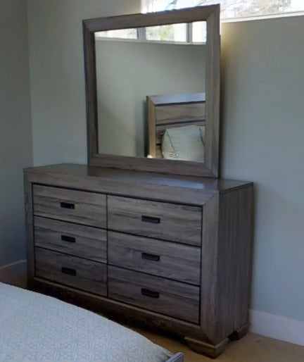 Contemporary Rustic Light Wood Panel Bedroom - Beechnut Collection