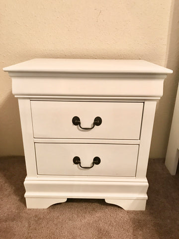 White Mayville Nightstand