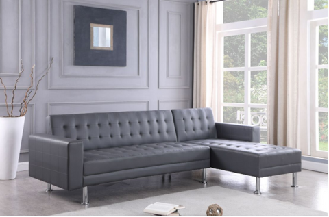 Bobby - 2pc Sectional Grey