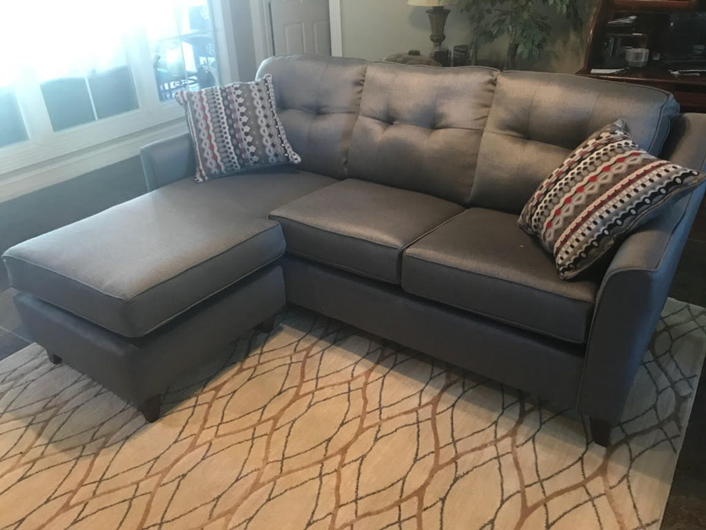 Heavy Duty Reversible Grey Sectional