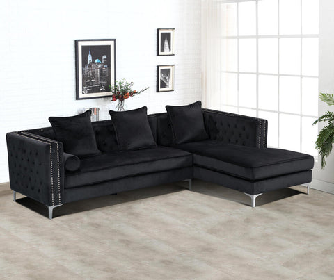 Ava Sectional (Black)