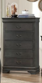 Stained Grey Chest