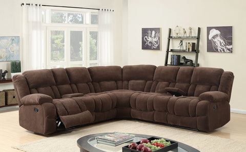 Chocolate Motion Sectional