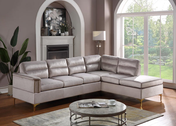Vogue Silver Sectional