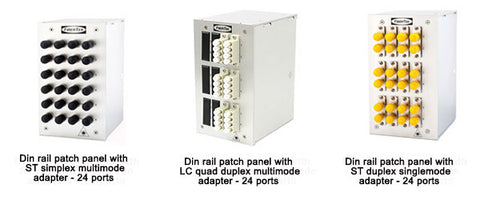 FiberTek_Din_Rail_Fiber_Optic_Panels