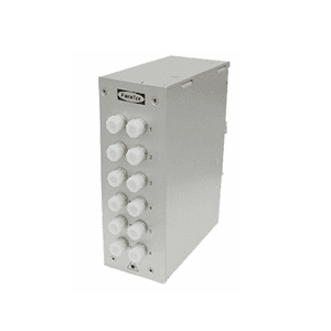 12 Ports Din Rail Panel FC Simplex MM