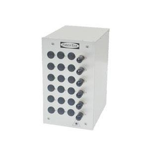6 Ports Din Rail Panel ST Simplex MM DPPT24