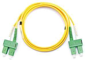 SC APC to SC APC Fiber Optic Patchcord