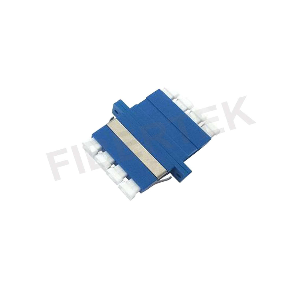 LC Quad Duplex Singlemode Fiber Optic Adapter