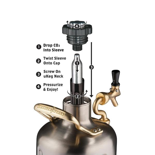 uKeg Stainless Steel Growler