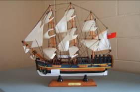 H.M.B Endeavour Wooden Replica