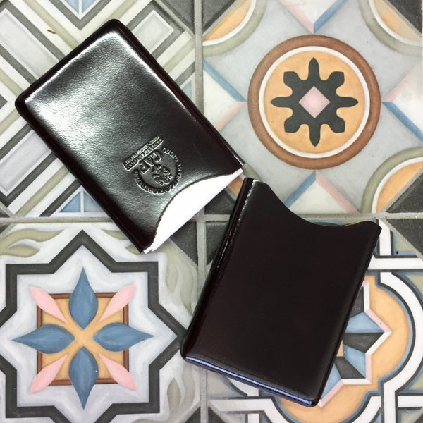 CAF Italian Leather Business Card Case